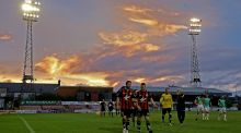 Dalymount Park: the  ground will be redeveloped by Dublin City Council and subsequently shared by Bohemians and Shelbourne. Photograph: Donall Farmer/Inpho