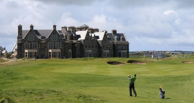 Doonbeg golf resort in Co Clare. Photograph: Niall Carson/PA Wire