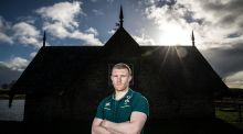 "Keith Earls: ""The goal would be, by the time I'm finished, to hopefully have a Six Nations [medal] and down in Munster have a European Cup medal."" Photograph: ©INPHO/Dan Sheridan"