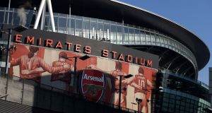 Arsenal's Emirates Stadium. The Gunners do not play again until March 4th, when they head to Liverpool. Photograph: Julian Finney/Getty Images
