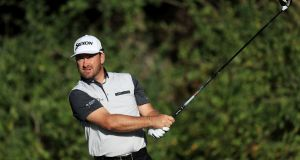 Graeme McDowell of Northern Ireland plays his shot from the third tee during the first round of The Honda Classic at PGA National Resort and Spa in Palm Beach Gardens, Florida. Photo: Sam Greenwood/Getty Images