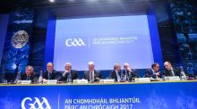 GAA Congress has passed a motion to introduce the 'Super 8' into the Senior Football Championship. Photograph: James Crombie/Inpho