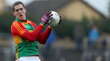 Brendan Murphy scored four points from play in Carlow's over Limerick. Photograph: James Crombie/Inpho