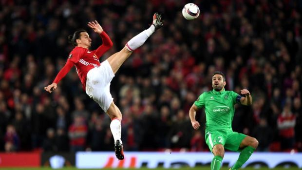 Ibrahimovic has already scored 24 goals for United. Photo: Shaun Botterill/Getty Images