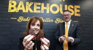 Alison Cowzer and Michael Carey: The latest project of the husband-and-wife entrepreneurs is  East Coast Bakehouse, based on Drogheda, Co Louth. Photograph: Jason Clarke Photography.