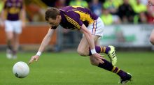Wexford's Kevin O'Grady scored the decisive goal in their Allianz NFL Division Four win over Waterford. Photo: Inpho