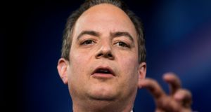 White House chief of staff Reince Priebus:  contact with top FBI officials has been criticised. Photograph: Jim Lo Scalzo/EPA/