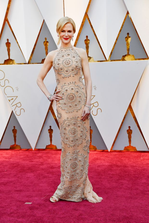 Nicole Kidman in Armani Prive. Photograph: Frazer Harrison/Getty Images