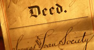 A deed map will be an integral part of the deed of conveyance