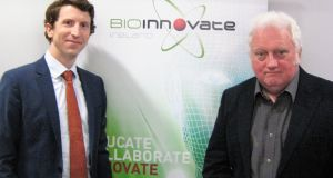 Dr Brendan Boland (left) and Gerry Clarke of Loci Orthopaedics