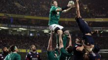 "Ireland's Peter O'Mahony:""We've got a big 11 days to get ready for a big international."" Photograph:  Brian Lawless/PA Wire"