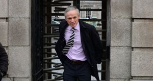 Minister for Education and Skills Richard Bruton has said Springboard+ has been successful at giving people the skills to get back into the workforce. Photograph: Dara Mac Dónaill