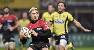 Former Wallaby James O'Connor is unlikely to have his Toulon contract extended. Photograph: Thierry Zoccolan/Afp