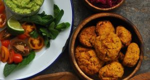 Spiced Sweet Potato Cakes