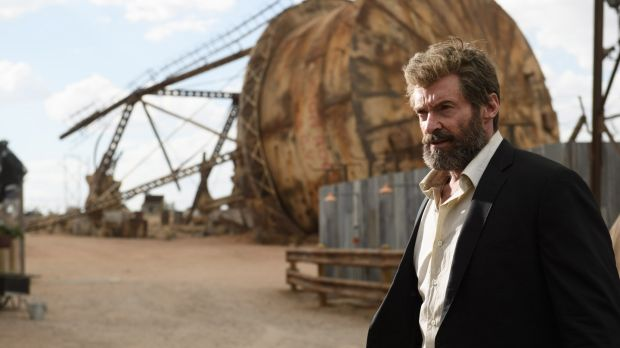 Hugh Jackman  in Logan. Photograph: Ben Rothstein/ Marvel/Twentieth Century Fox