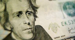 Andrew Jackson: the parents of the president shown on the $20 bill, Andrew Jackson and Elizabeth Hutchinson Jackson, were poor Protestant farmers who emigrated from Co Antrim. Photograph: Nick Koudis/Getty