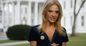 Donald Trump's senior adviser Kellyanne Conway: a champion of 'alternative facts'. Photograph: Mark Wilson/Getty Images