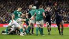 Conor Murray's try was pivotal against France but his game management was arguably even more important in getting Ireland over the line. Photograph: Paul Faith/Getty Images