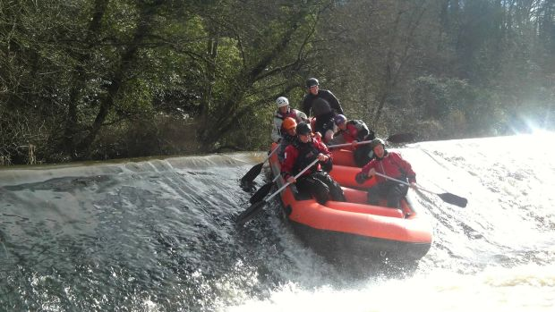 White-water rafting with Boyne Valley Activities