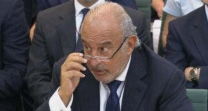 Philip Green promised MPs last year that he would resolve the £571 million pension deficit at BHS. Photograph:  Reuters