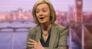Liz Truss: the lord chancellor's  shock ruling saw shares in insurance companies tumble. Photograph: PA
