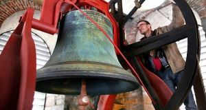 Church and cathedral bells are due to be rung on March 19th at 11am in locations around the world in protest at anti-immigrant sentiment. File photograph: Getty Images