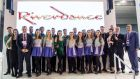 "Members of the cast of Riverdance at the Ding stand: ""Riverdance is such a global brand and one that denotes everything that is strong and contemporary about Ireland."""