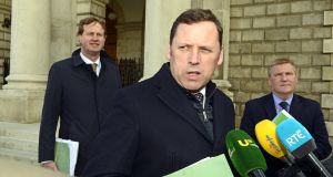 Fianna Fáil housing spokesman Barry Cowen .Photograph: Cyril Byrne/The Irish Times.