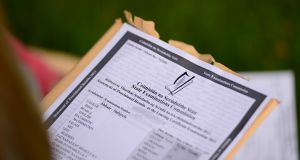 The Leaving Cert: A new Irish website aims to make the State exams less stressful. Photograph: Bryan O'Brien
