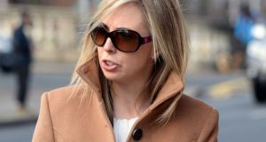 Data Protection Commissioner Helen Dixon: she had refused to provide details of lobbying last year by Yahoo, Ibec, Microsoft, the American Chamber of Commerce Ireland and other organisations. Photograph: Eric Luke