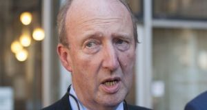 Minister for Transport Shane Ross wants drink-drivers  caught with between 50mg and 80mg of alcohol per 100mg of blood to be disqualified from driving for three months. Photograph:  Dave Meehan