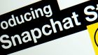 Snapchat has never recorded a profit. Photograph: AFP