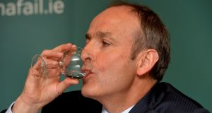 Fianna Fáil leader Micheál Martin: The party sponsored the introduction of water charges as part of the programme for government agreed with the Green Party. File photograph: David Sleator/The Irish Times