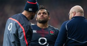 Billy Vunipola could return for England against Scotland. Photograph: Ashley Western/Getty
