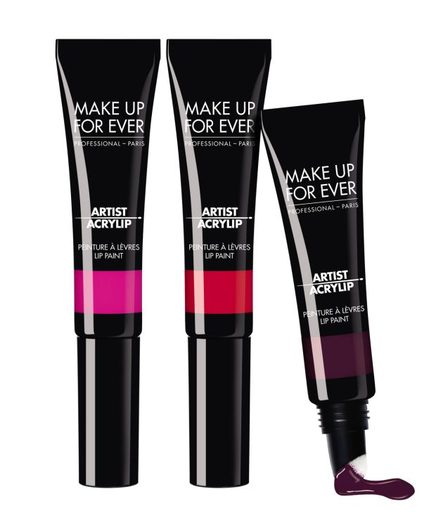 Make Up For Ever Artist Acrylip Lip Paint: (€22).
