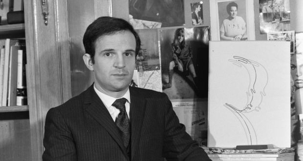 bb65f065c9fe François Truffaut during an interview for his book on Alfred Hitchcock in  1962. Photograph: