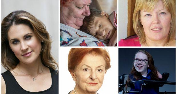 Anne-Marie Tomchak, Johanne Powell, Cathy Kearney, Joanne O'Riordan,