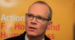 Minister for Housing Simon Coveney said on Thursday the general taxpayer should not have to pay for those who waste water. Photograph: Gareth Chaney Collins