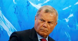 WPP chief executive Martin Sorrell: the group reported that 2016 like-for-like net sales were up 3.1 per cent. Photograph: Ruben Sprich/Reuters