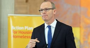 Senior Ministers have supported Simon  Coveney's position on the water issue. Photograph: Eric Luke/The Irish Times
