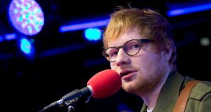 Ed Sheeran's Divide: 'imagine a Tesco music version of When We Were Young, created to skip paying royalties and to soundtrack your bulk Andrex shop'. PhotographL Isabel Infantes/PA Wire
