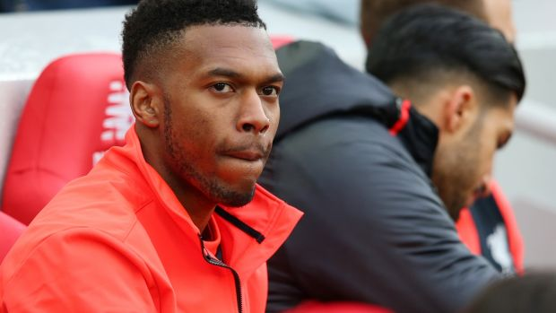 Daniel Sturridge has spent quite a lot of time of time on the sidelines this season. Photo: Getty Images