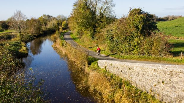 Canal route. Photograph: David Kavanagh