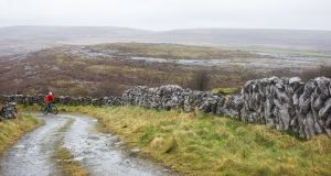 Burren boreen. Photograph: David Kavanagh