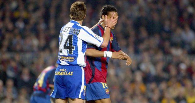 Mauricio Pochettino Won T Dismiss Barca Link Despite Bull In His Arm