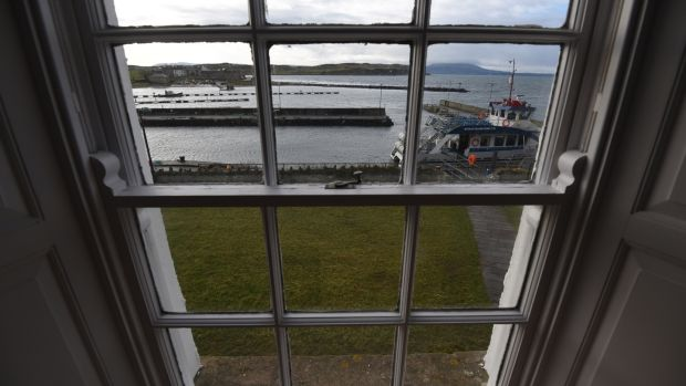 Views from The Manor House on Rathlin Island. Photograph: Colm Lenaghan/Pacemaker Press