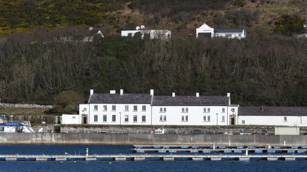 The Manor House on Rathlin Island. Photograph: Colm Lenaghan/Pacemaker Press
