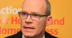 Minister for Housing  Simon Coveney agreed to examine the  Water Services Act, which has been proposed by Fianna Fáil as a method of penalising householders, to determine if it meets European law. Photograph:  Gareth Chaney Collins