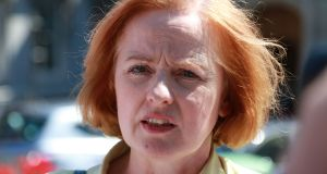 Anti-Austerity Alliance TD Ruth Coppinger: rejects constitutional compromise. Photograph: Nick Bradshaw