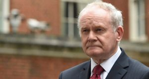 Sinn Féin's Martin McGuinness pictured last October.